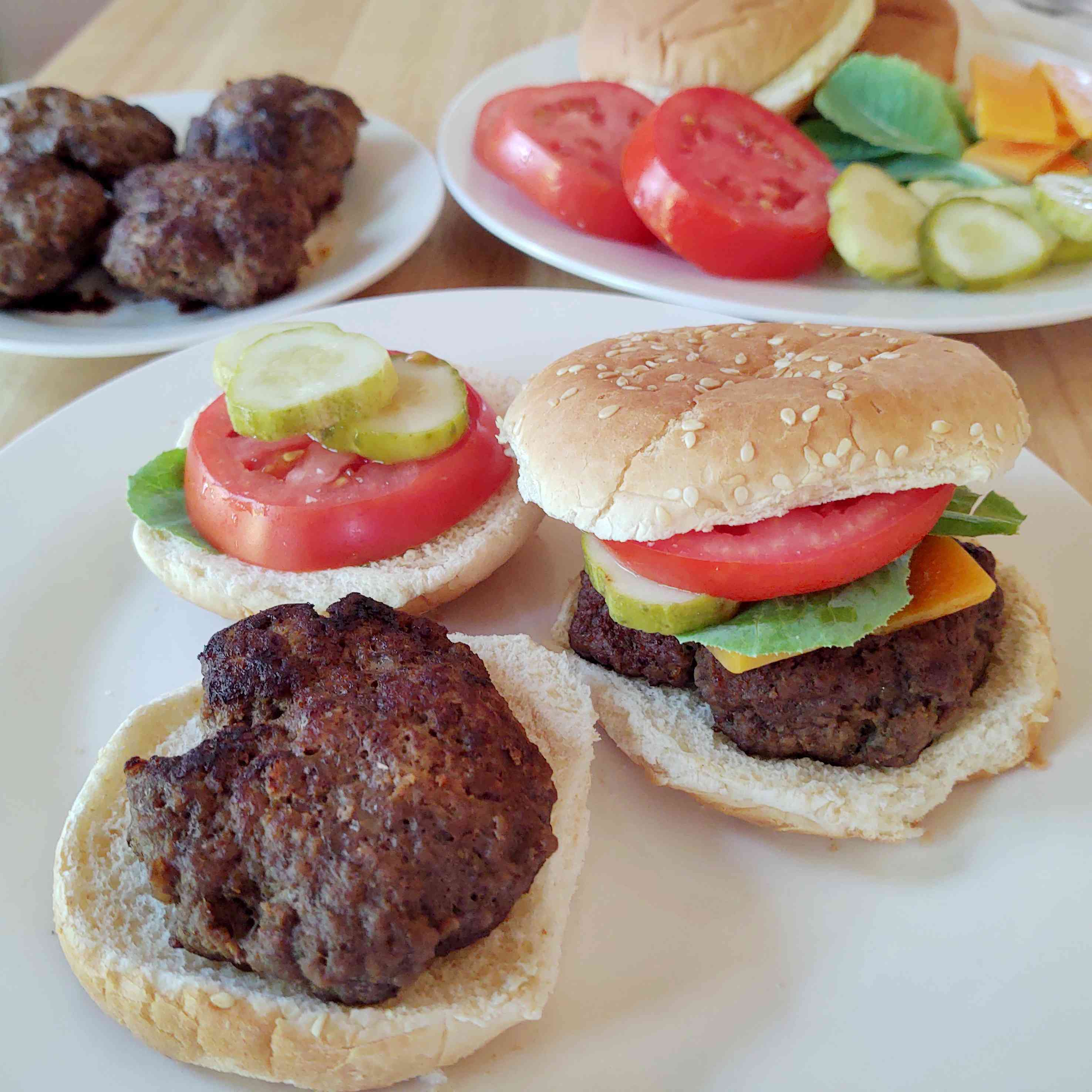 Juicy Oven-Baked Burgers Tester Image
