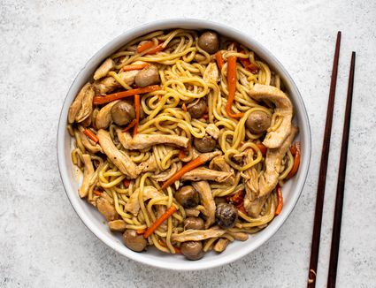 Chicken Lo Mein Stir-fry Recipe
