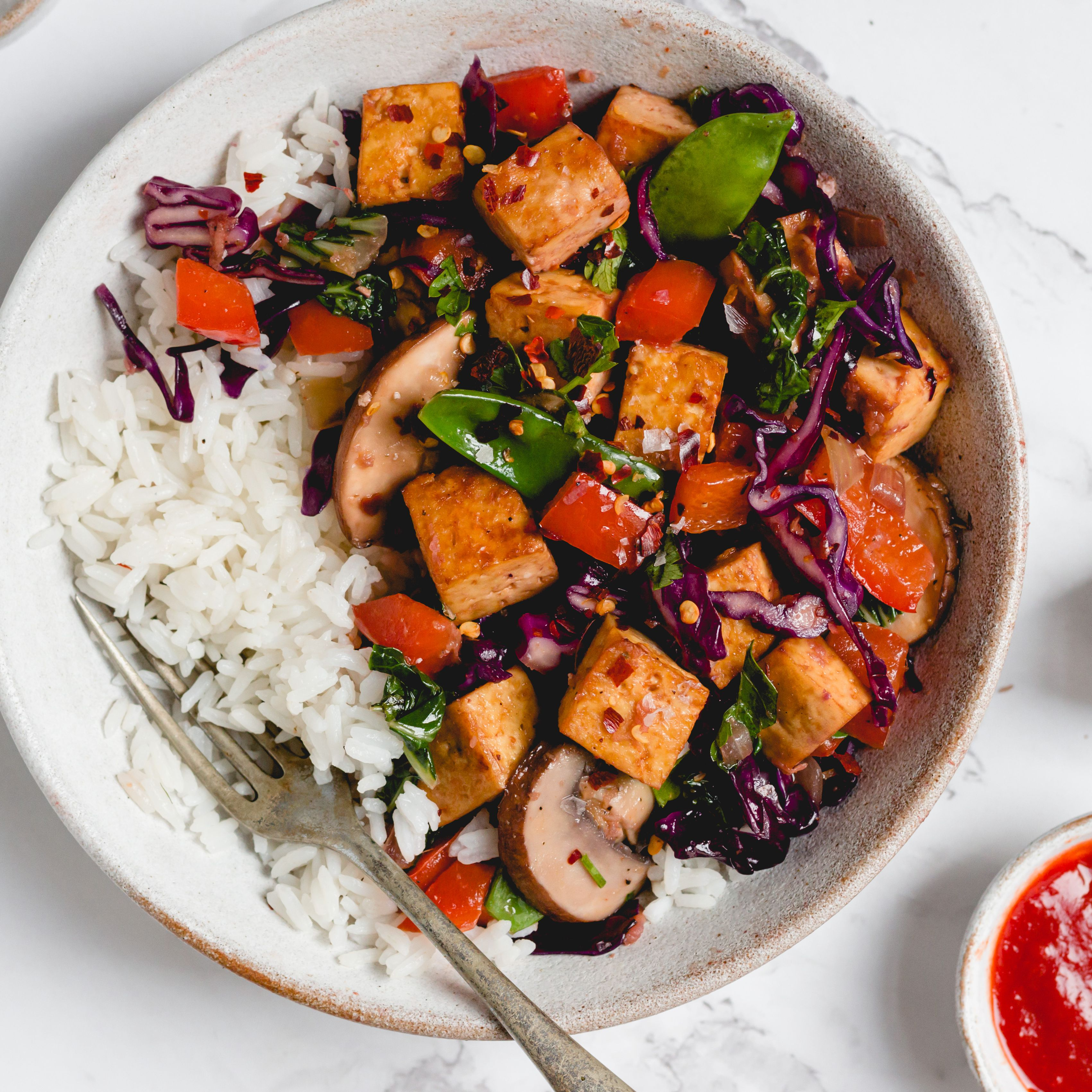 Vegan Chinese Kung Pao Tofu Recipe