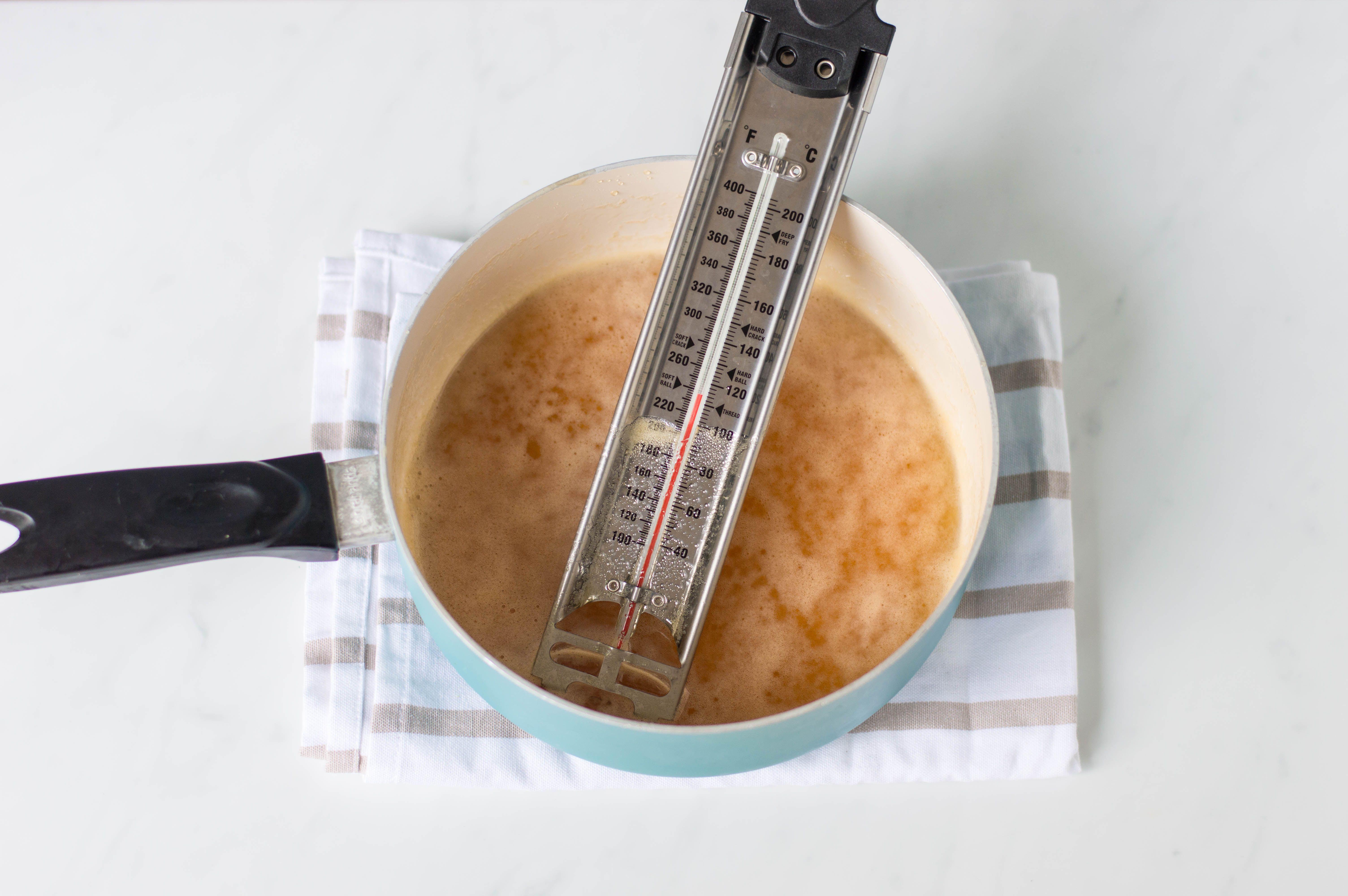 Heating the honey