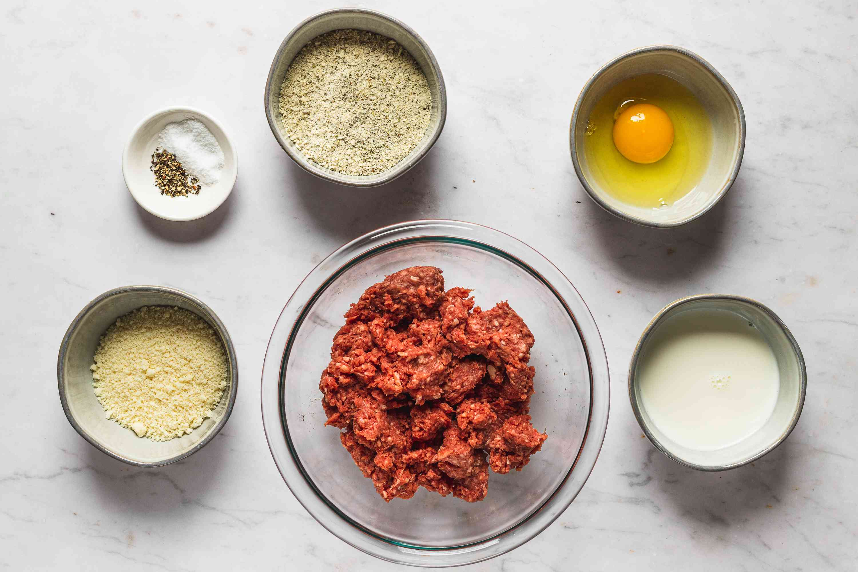 Simply Perfect Meatballs ingredients