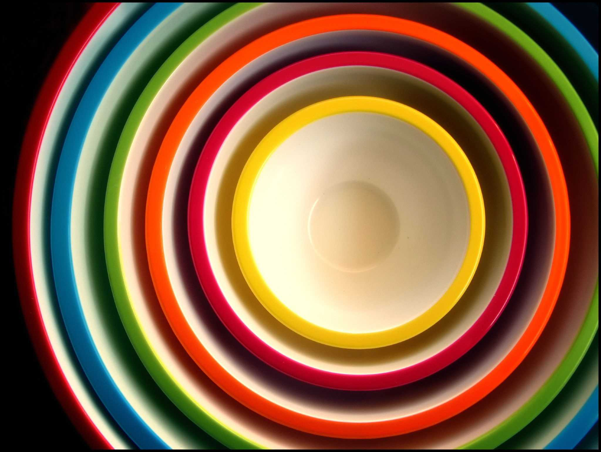 Concentric bowls