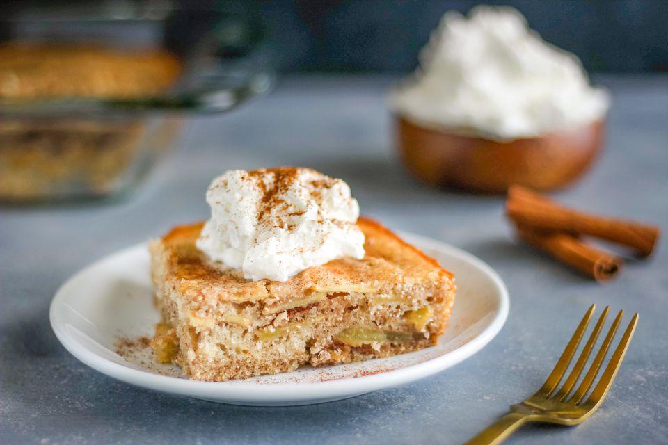 Apple spiced cake recipe