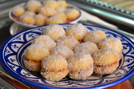 Moroccan Coconut Snowball Cookies Richbond Cookies