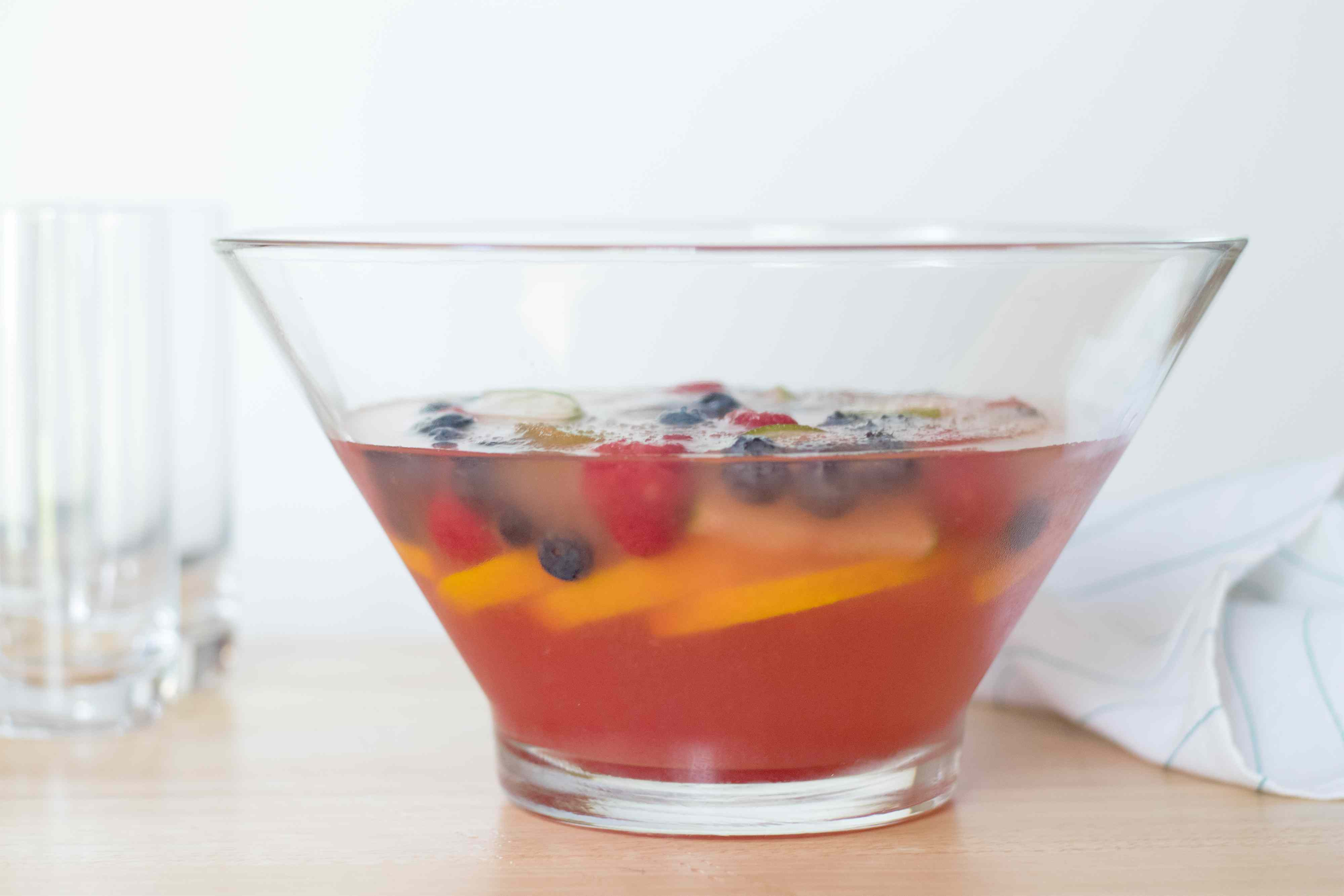 Fruit Ice Ring for Punch Bowls