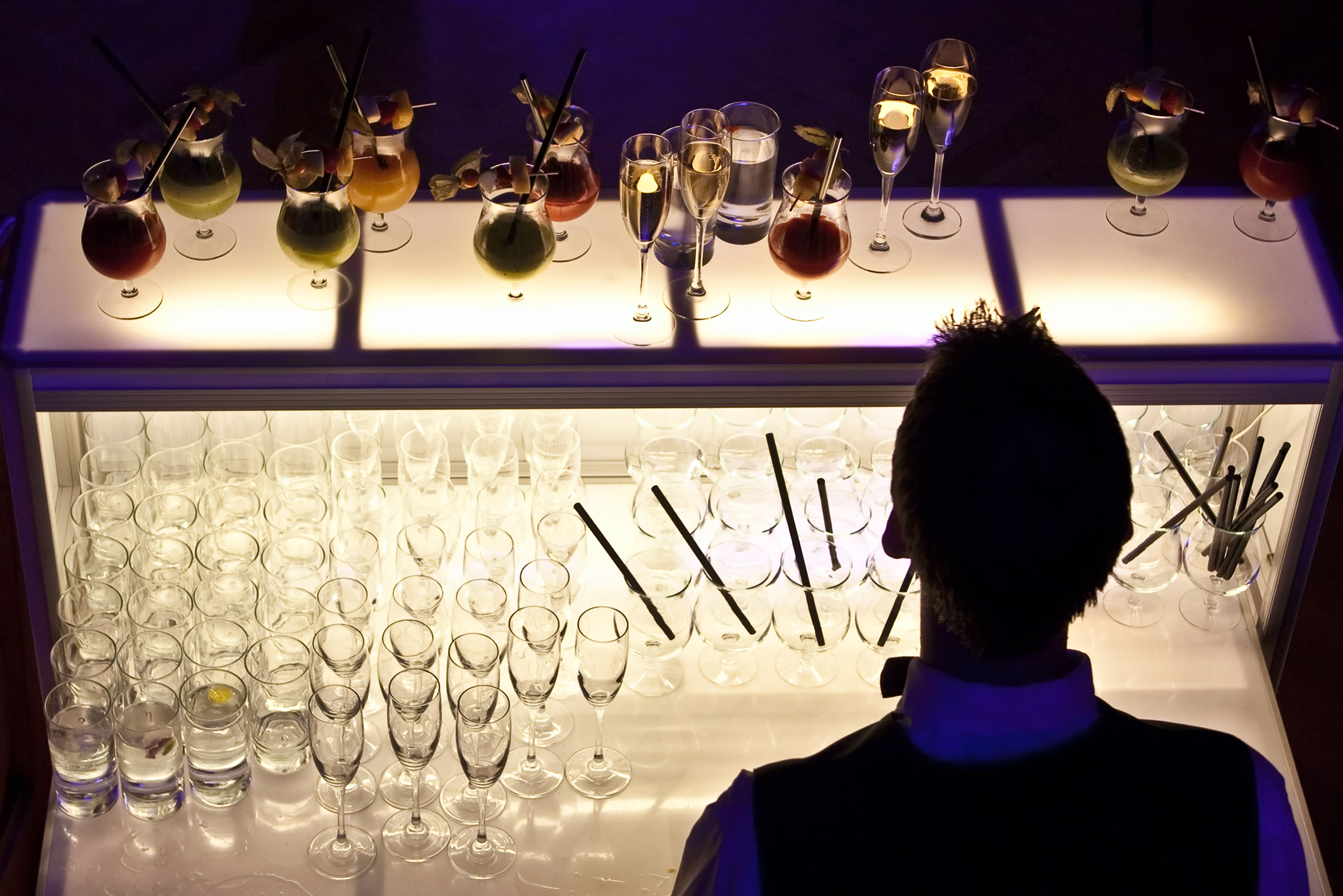 Serving so many kinds of drinks requires a working vocabulary to discuss bar products