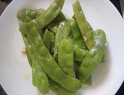 Braised Romano Beans