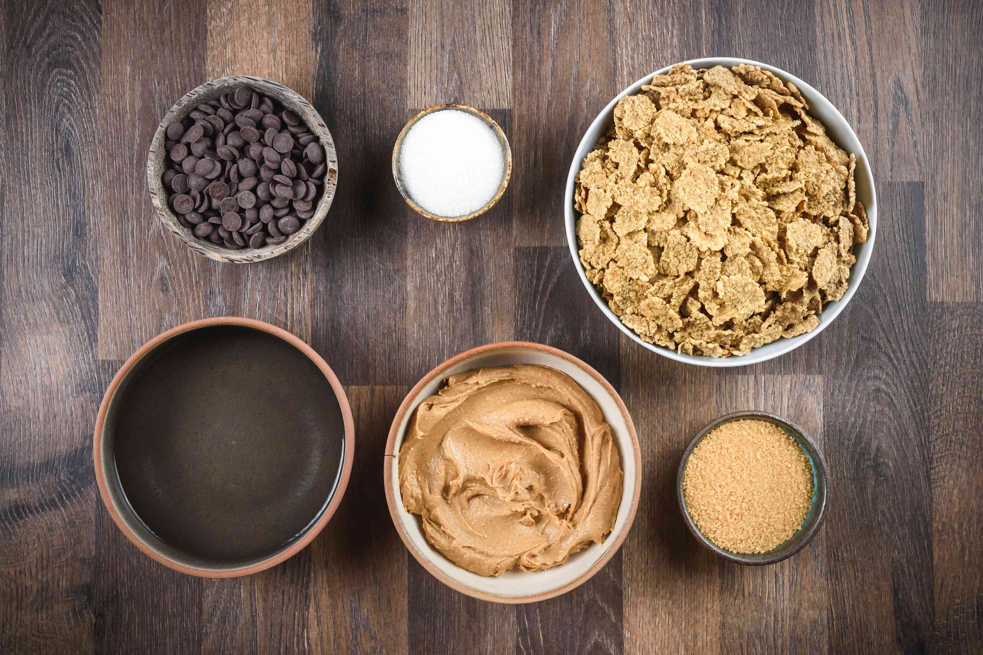 Ingredients for special kay bars