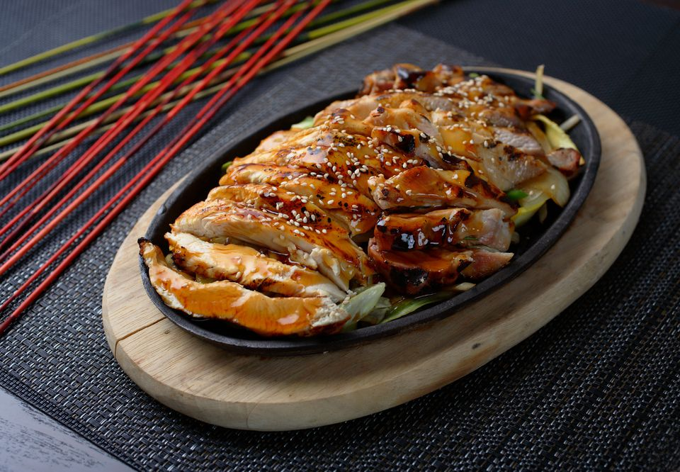 Japanese restaurant style teriyaki chicken teriyaki chicken recipe forumfinder Choice Image