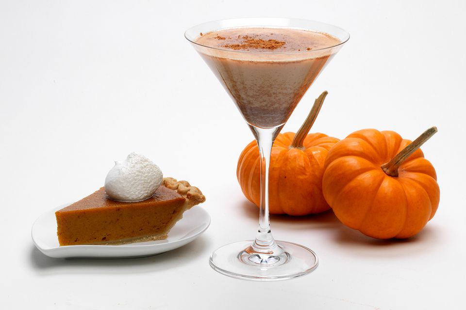 RumChata Pumpkin Pie Martini