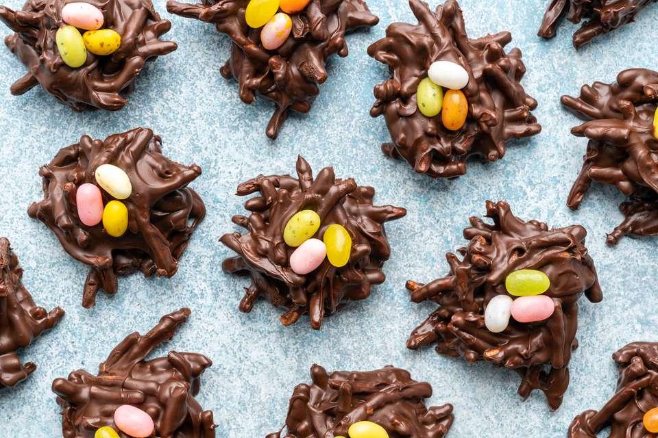 Chow Mein Noodle Bird's Nest Cookies