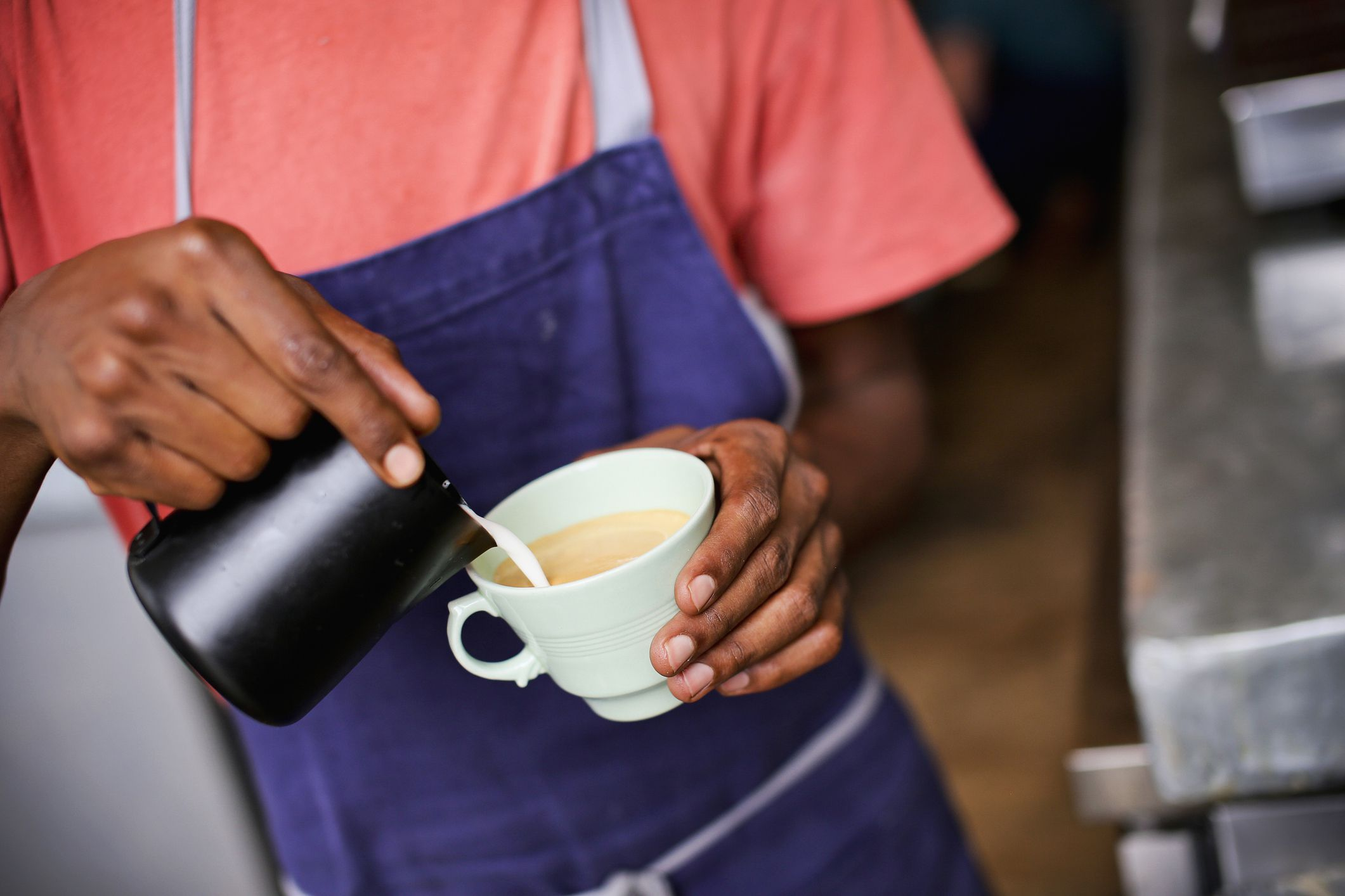 Coffee interracial milk — img 9
