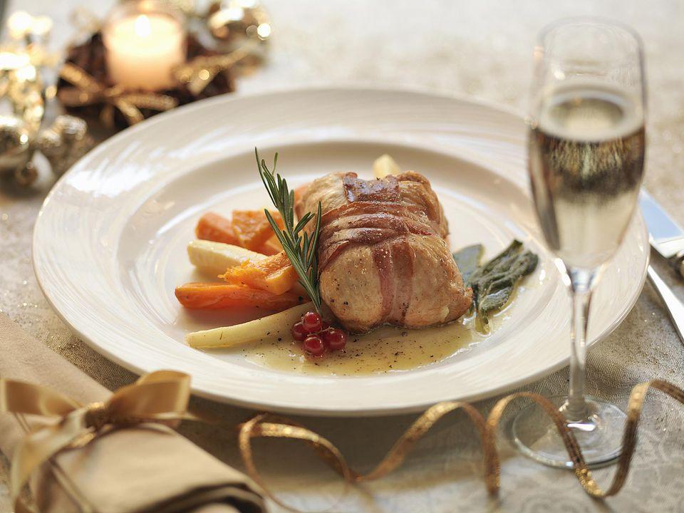 Bacon Wrapped Turkey Tenderloin