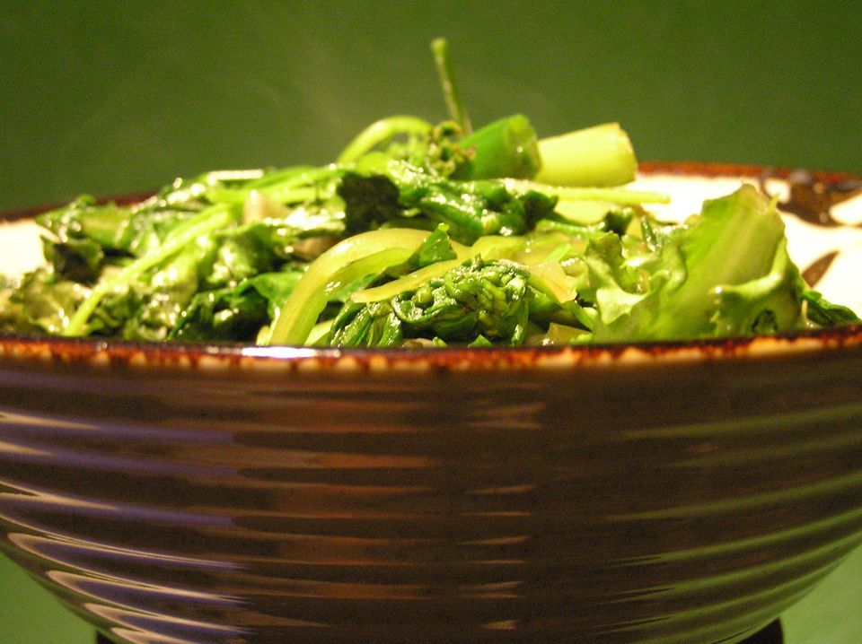 Stirfried Greens
