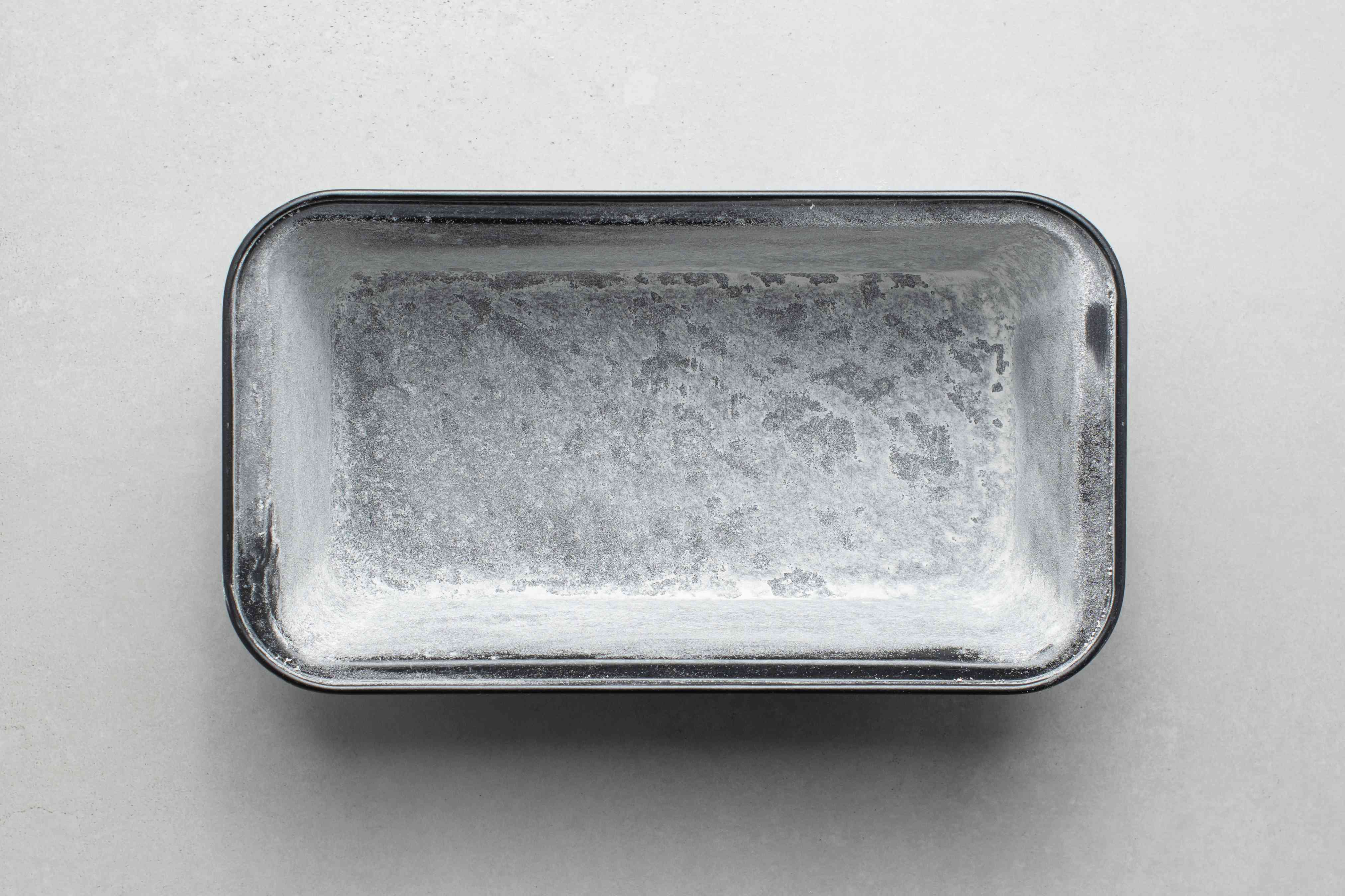 grease and flour a pan