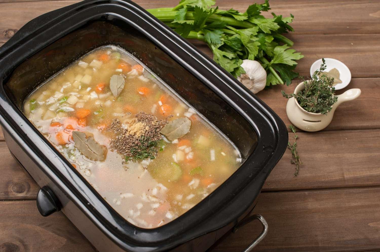 Crock Pot Vegetarian Split Pea Soup Recipe