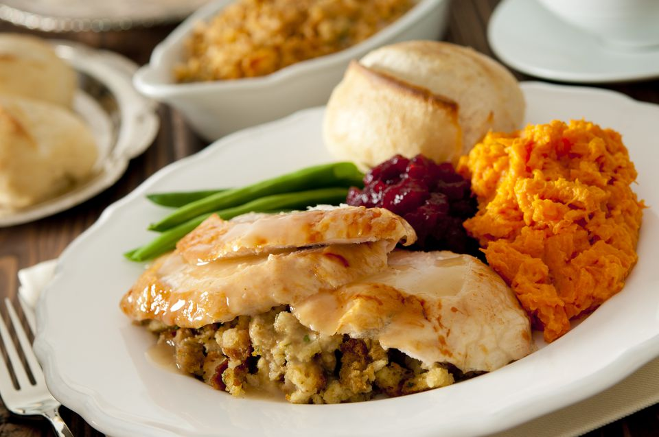 Gluten-Free Thanksgiving meal