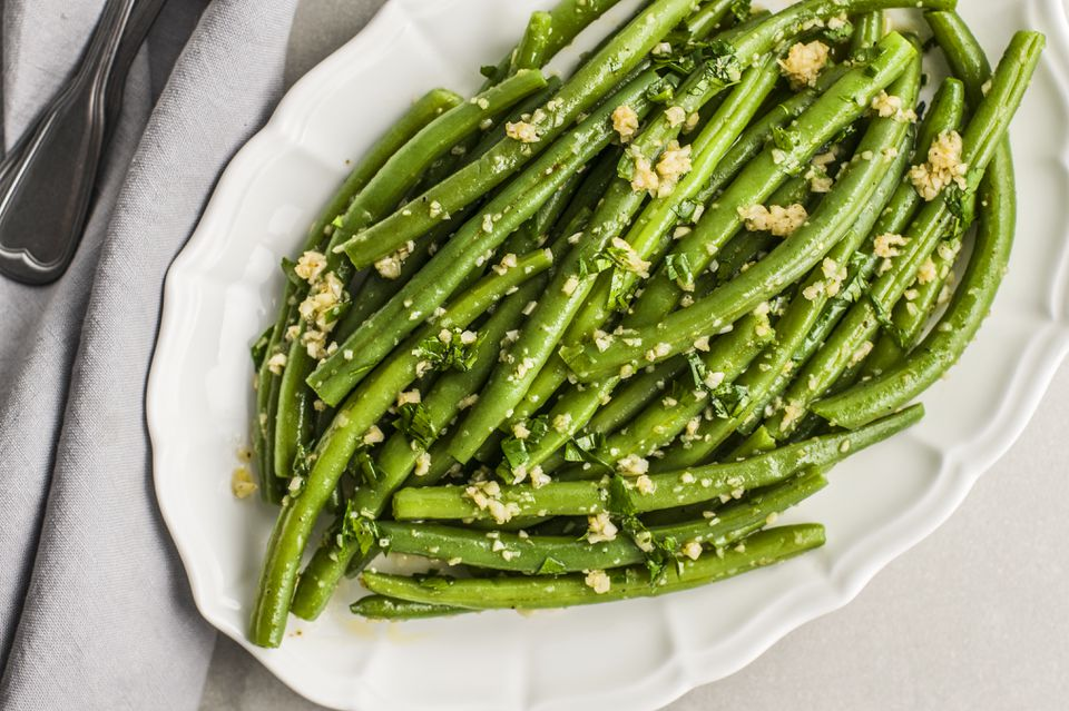 Green Bean Sauté With Garlic
