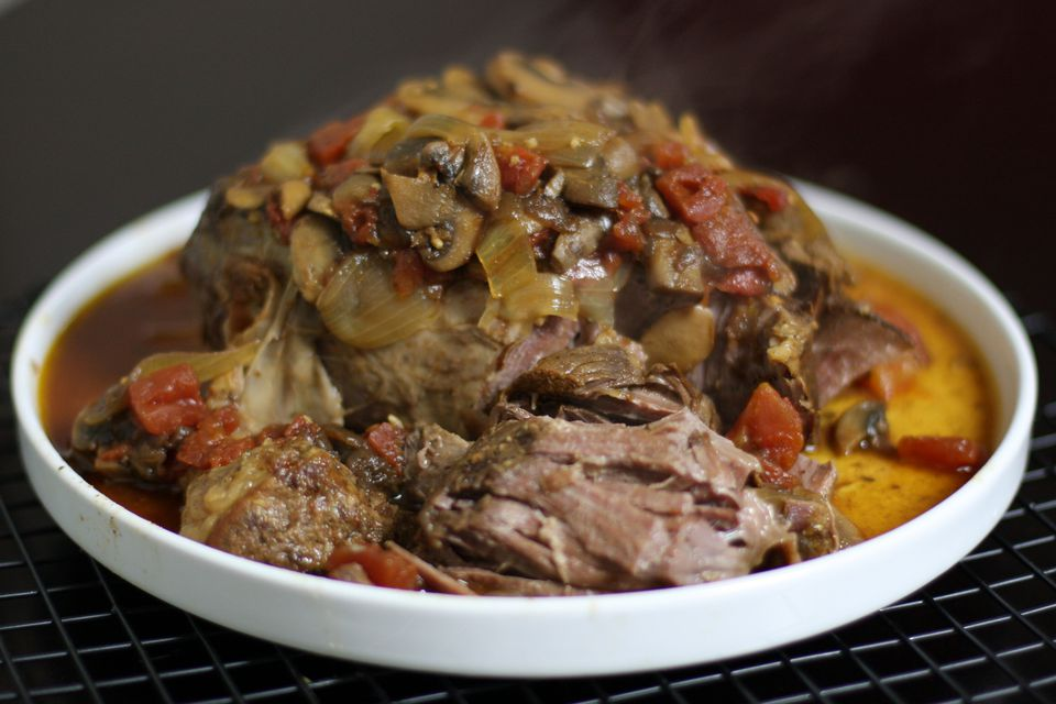 Pot Roast with Tomatoes