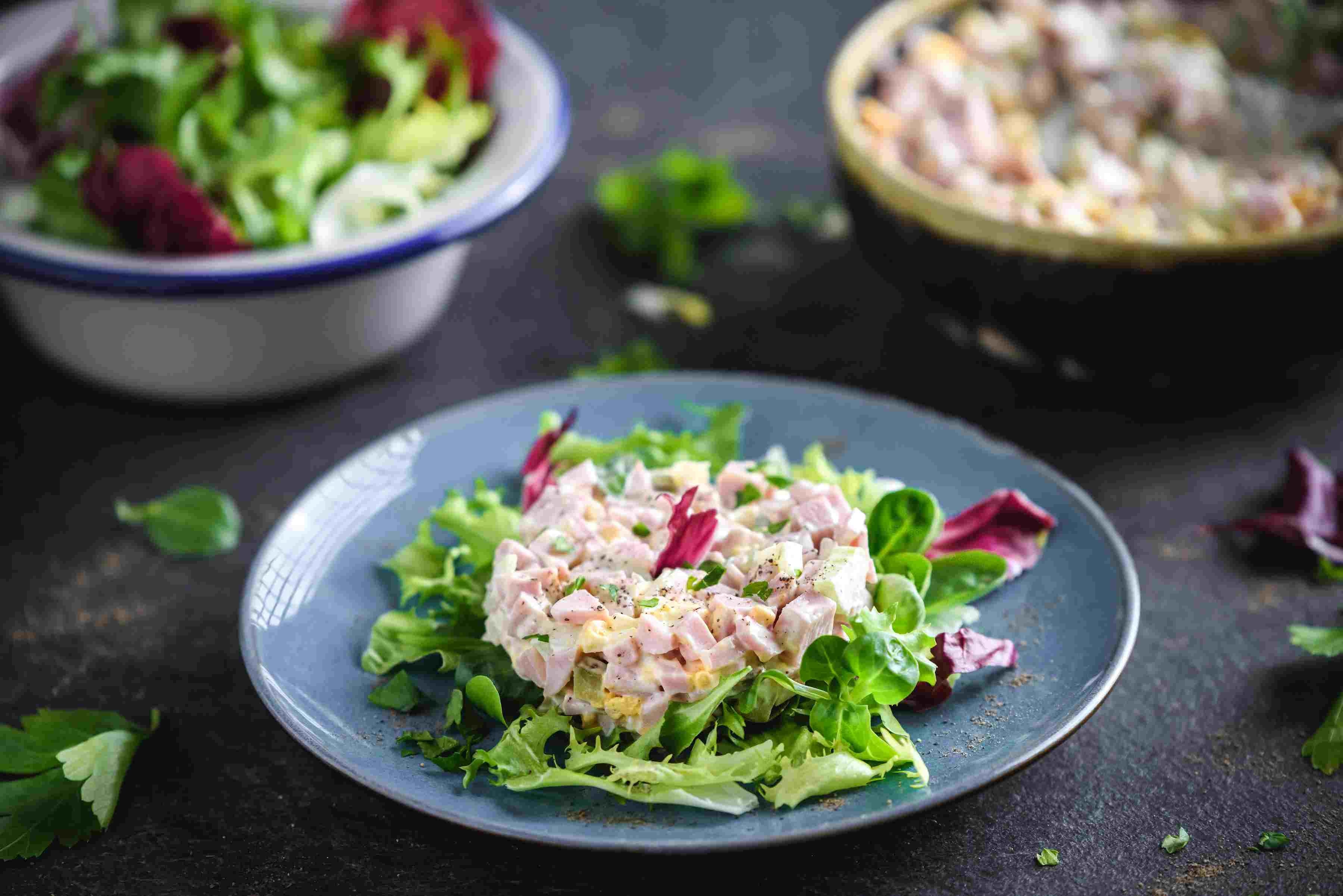 Southern style ham salad