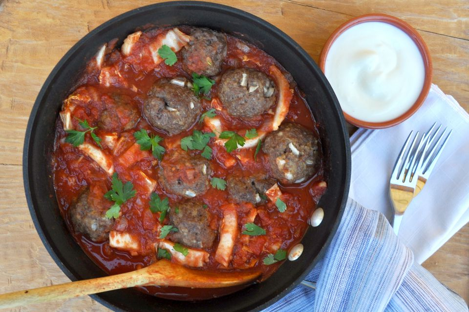 cabbage with meatballs