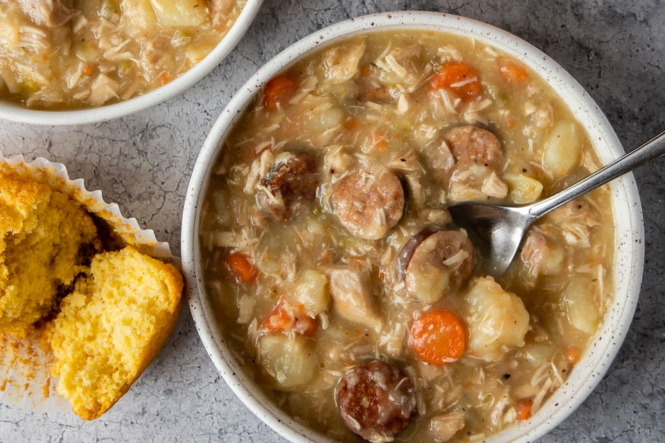 Savory Chicken and Sausage Stew