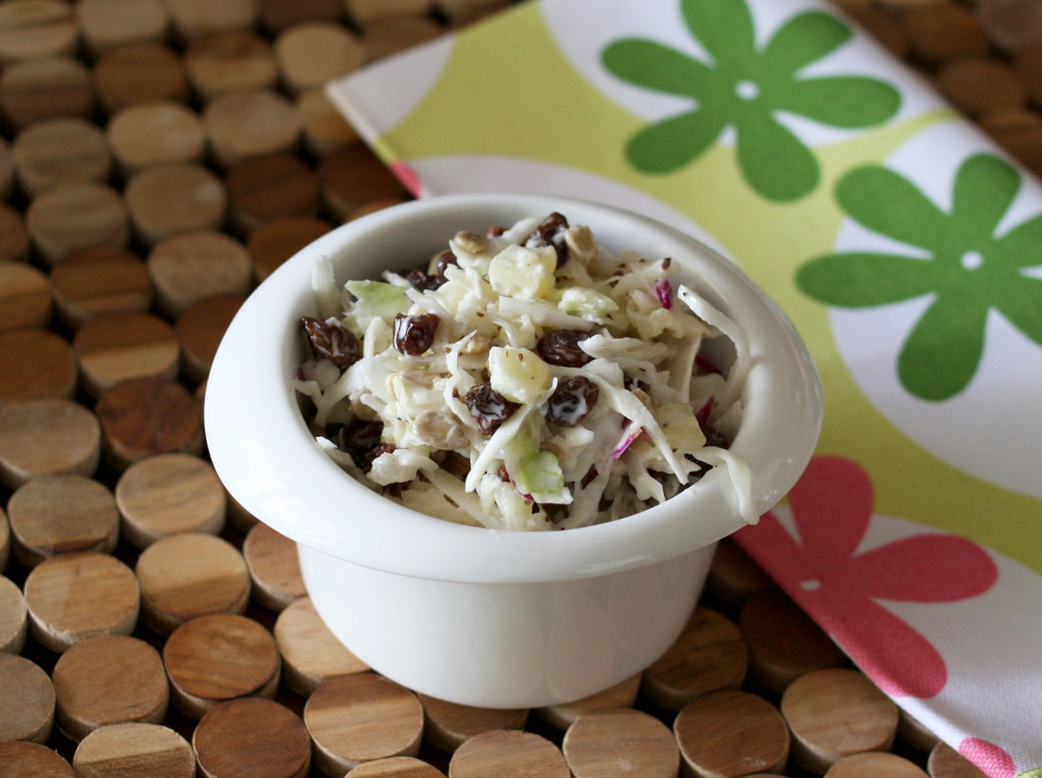 Creamy Coleslaw With Pineapple