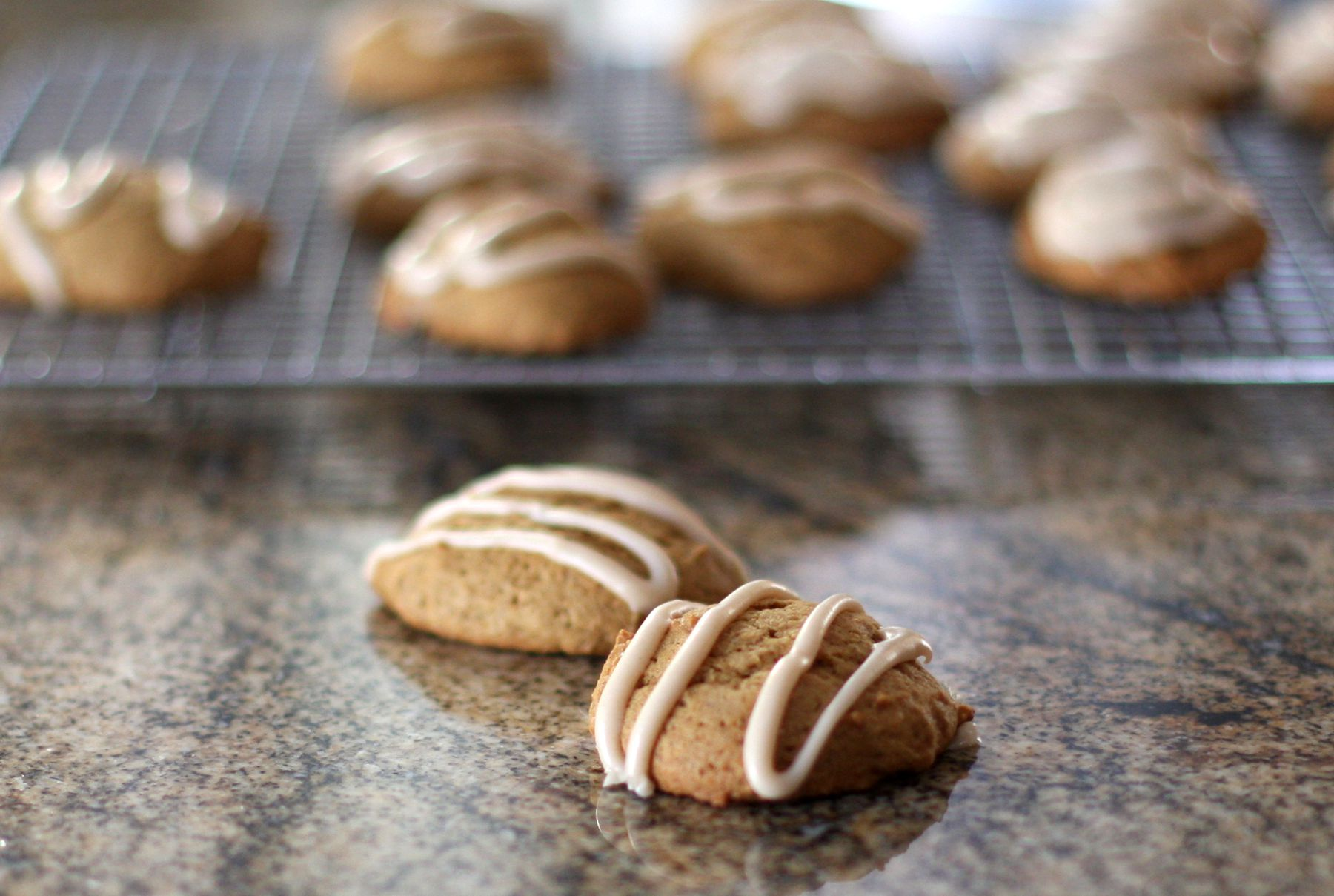 A Brown Butter Icing Takes These Pumpkin Cookies Over the Top