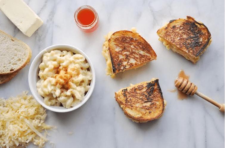 Creamy Gouda Mac + Cheese