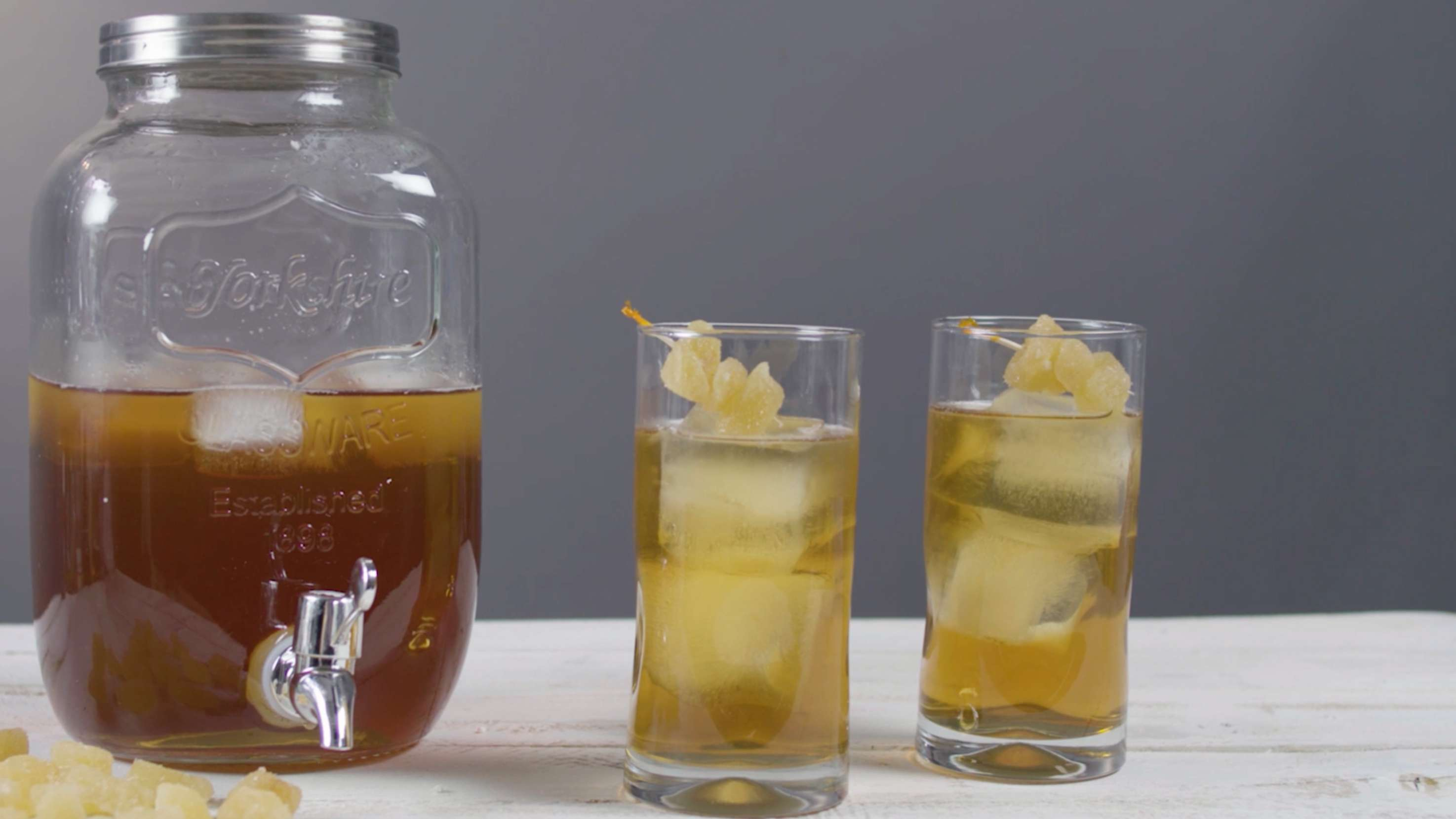 Moscato Ginger Iced Tea Cocktail