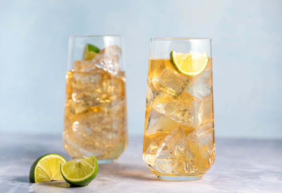 Classic whiskey ginger recipe