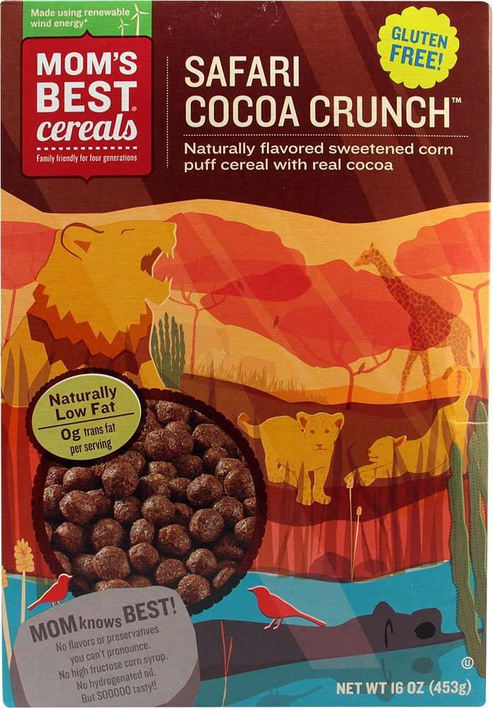 Mom's Best Safari Cocoa Crunch (Pack of 10)