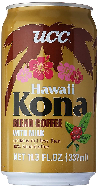 UCC Hawaii Kona Blend Coffee With Milk