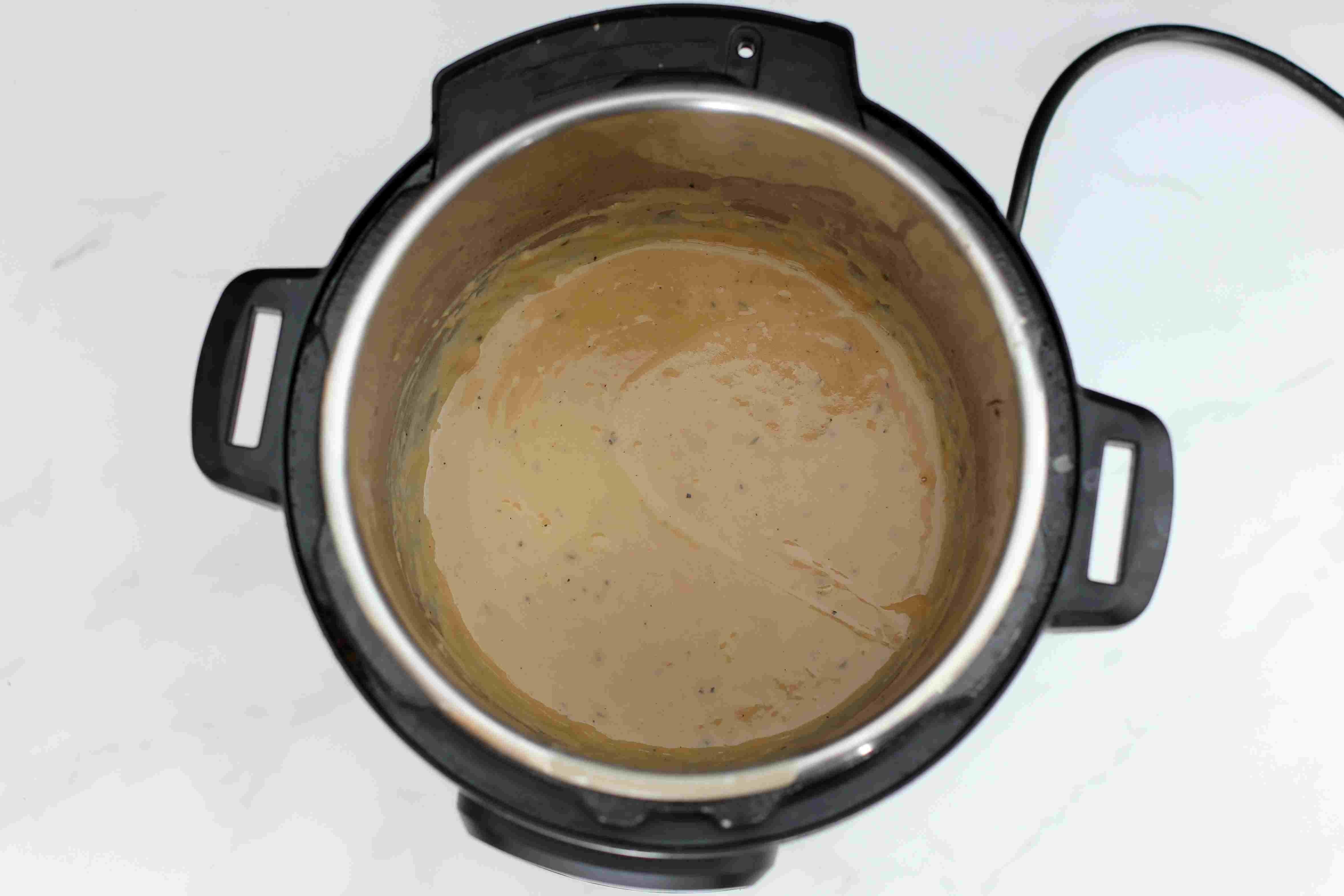 Optional gravy, Instant Pot
