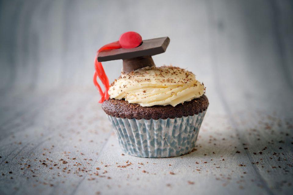 Tapa de graduación Cupcake Topper