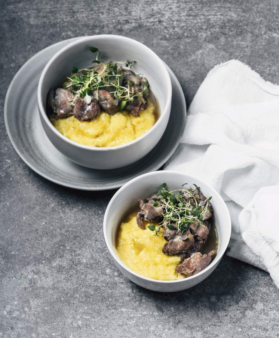 Stew With Polenta