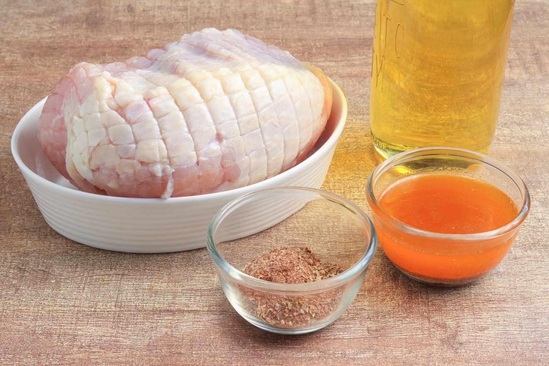 Deep-Fried Turkey Breasts recipe ingredients