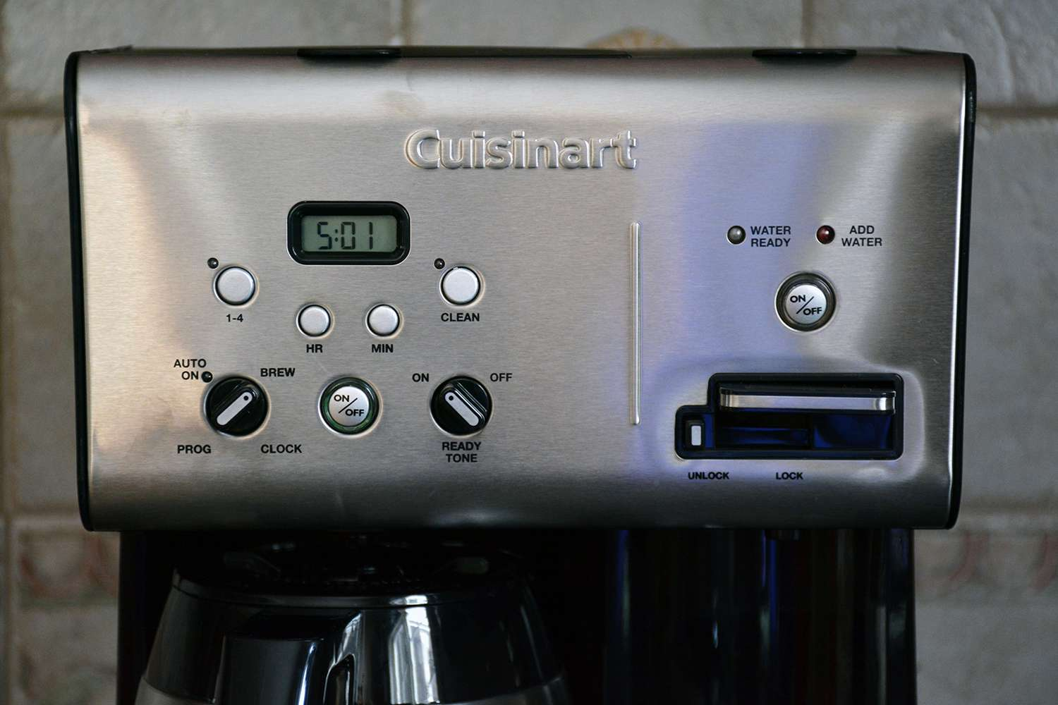 Cuisinart Coffee Plus 10-Cup Thermal Programmable Coffeemaker