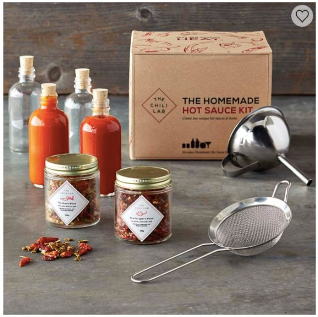 The Chilli Lab Homemade Hot Sauce Kit