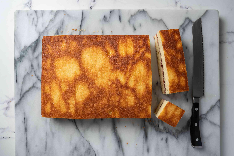 Lamington Cake slices