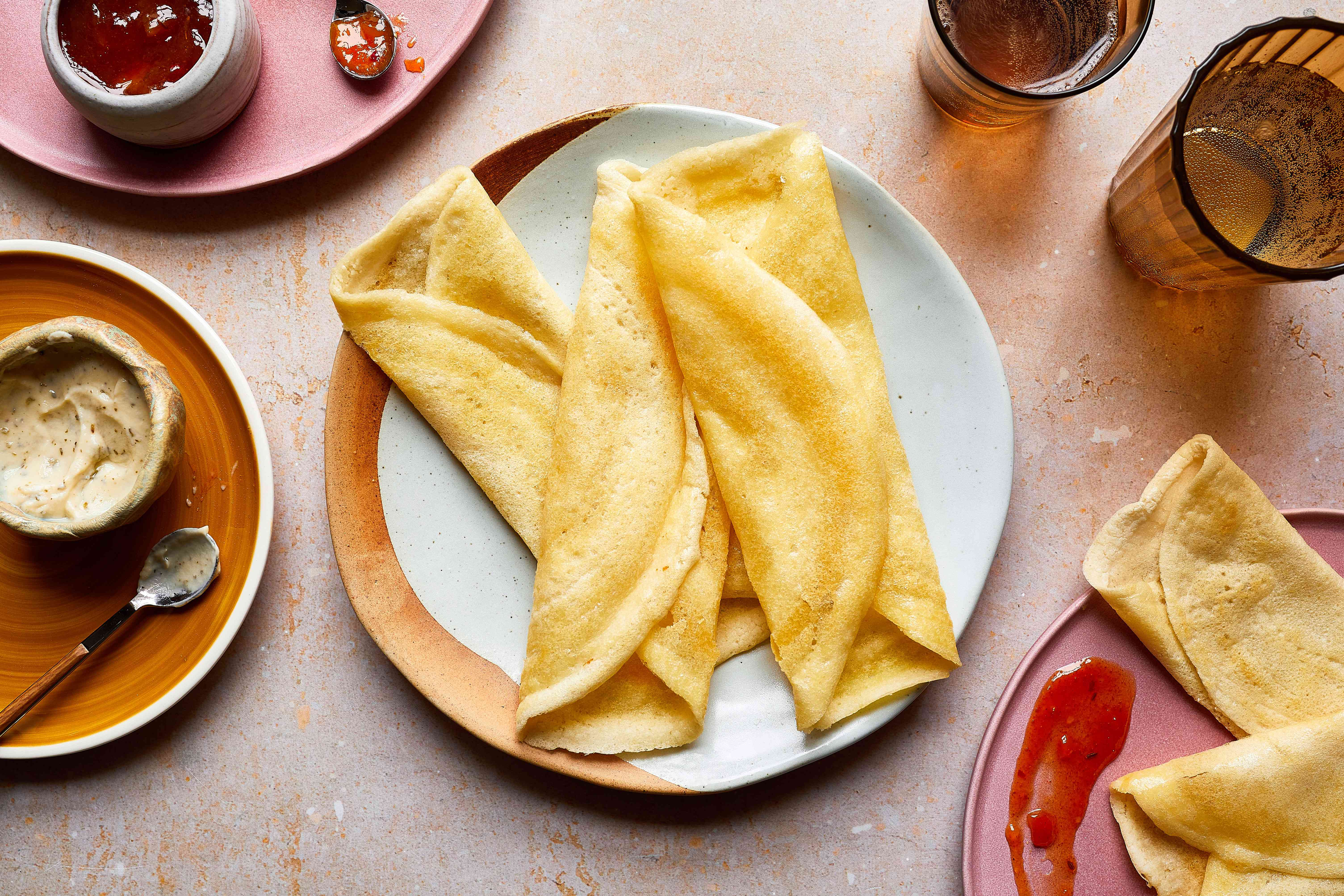 Savory Dosas Recipe (South Indian Pancakes)