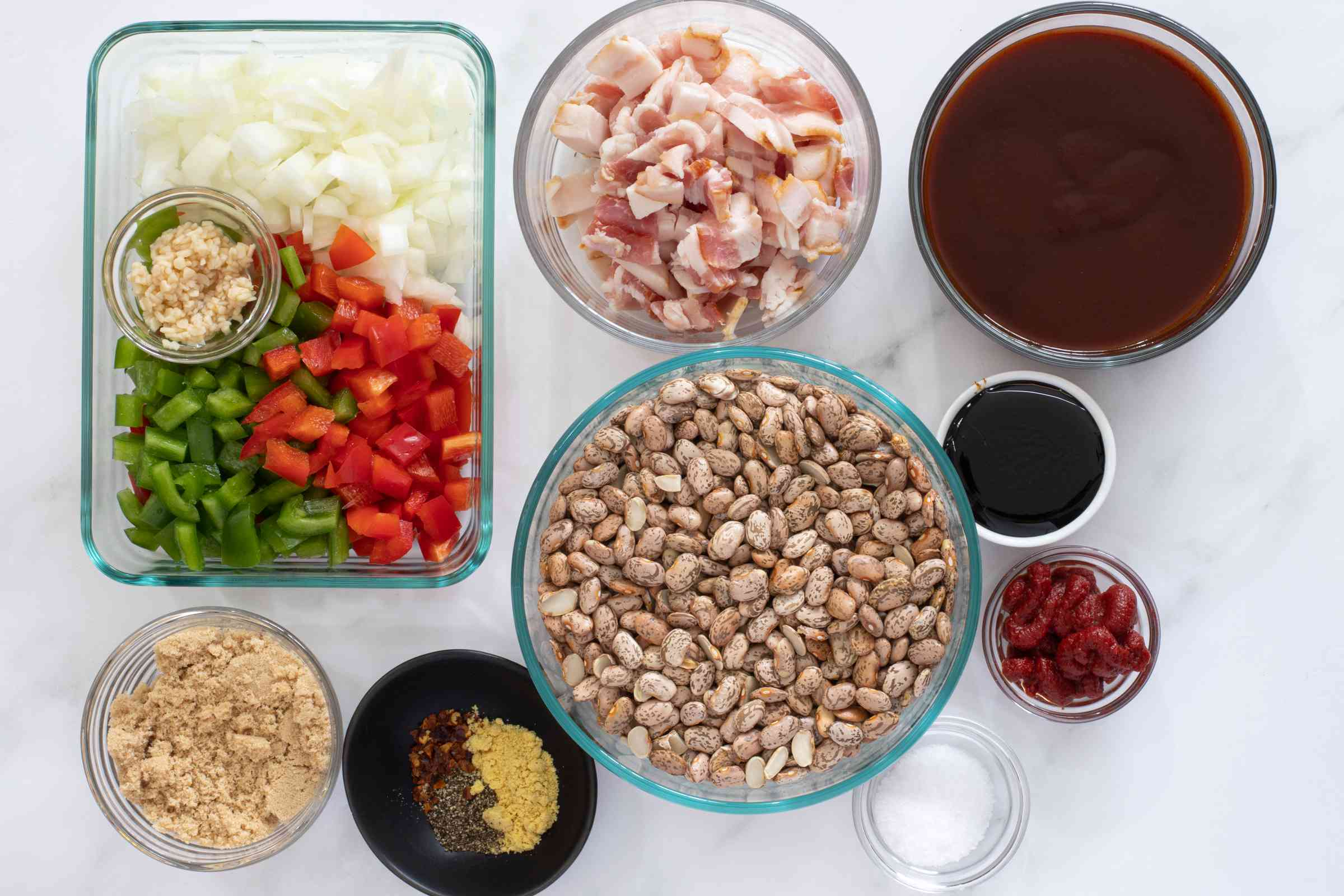 ingredients for instant pot baked beans