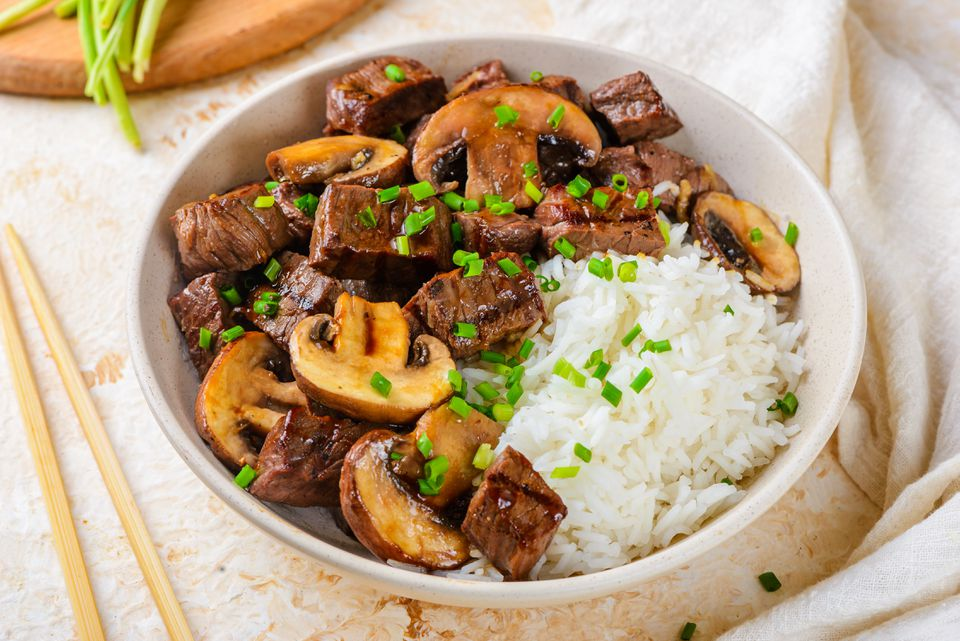 Grilled hibachi steak recipe