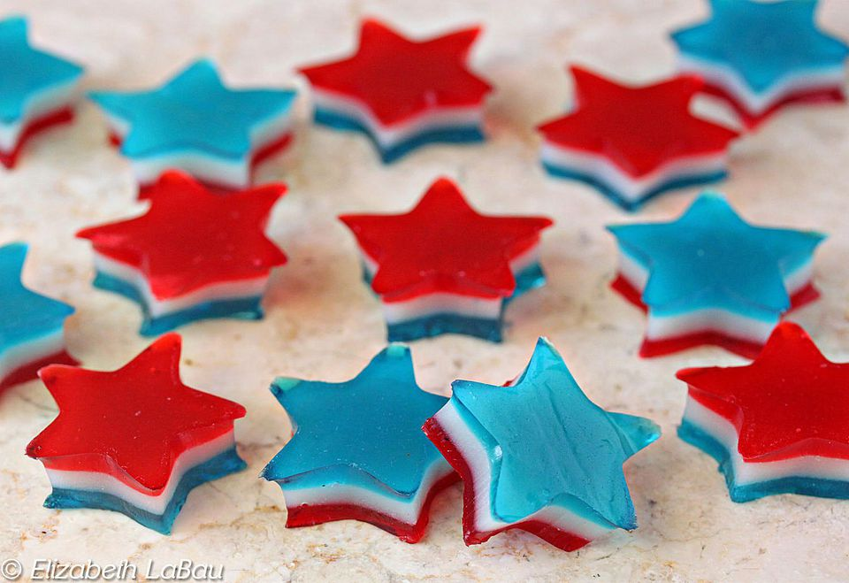 Red White and Blue Gummies