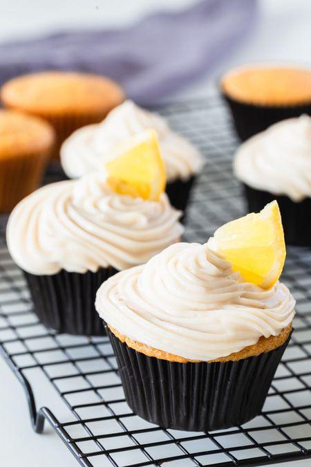 Dairy Free Desserts Vegan Lemon Cupcake Recipe