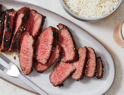 Sesame-Ginger Tri-Tip Steak