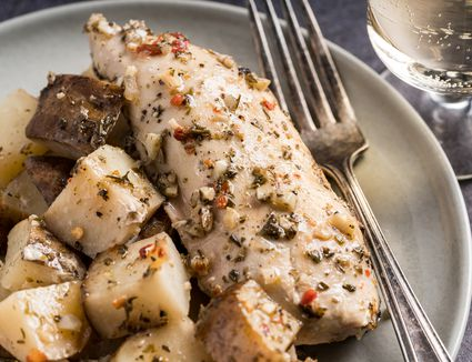 Italian Flavored Chicken and Potatoes