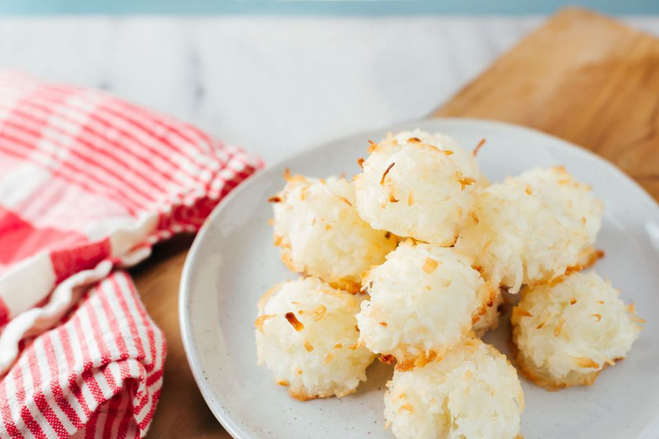 Dairy-Free Coconut Macaroons