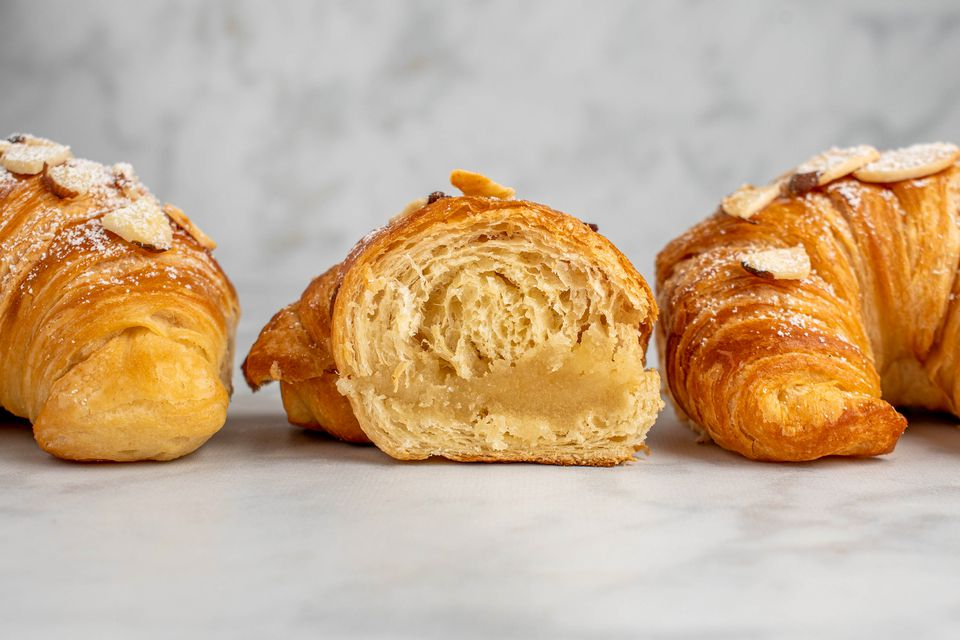 Classic French Almond Croissants