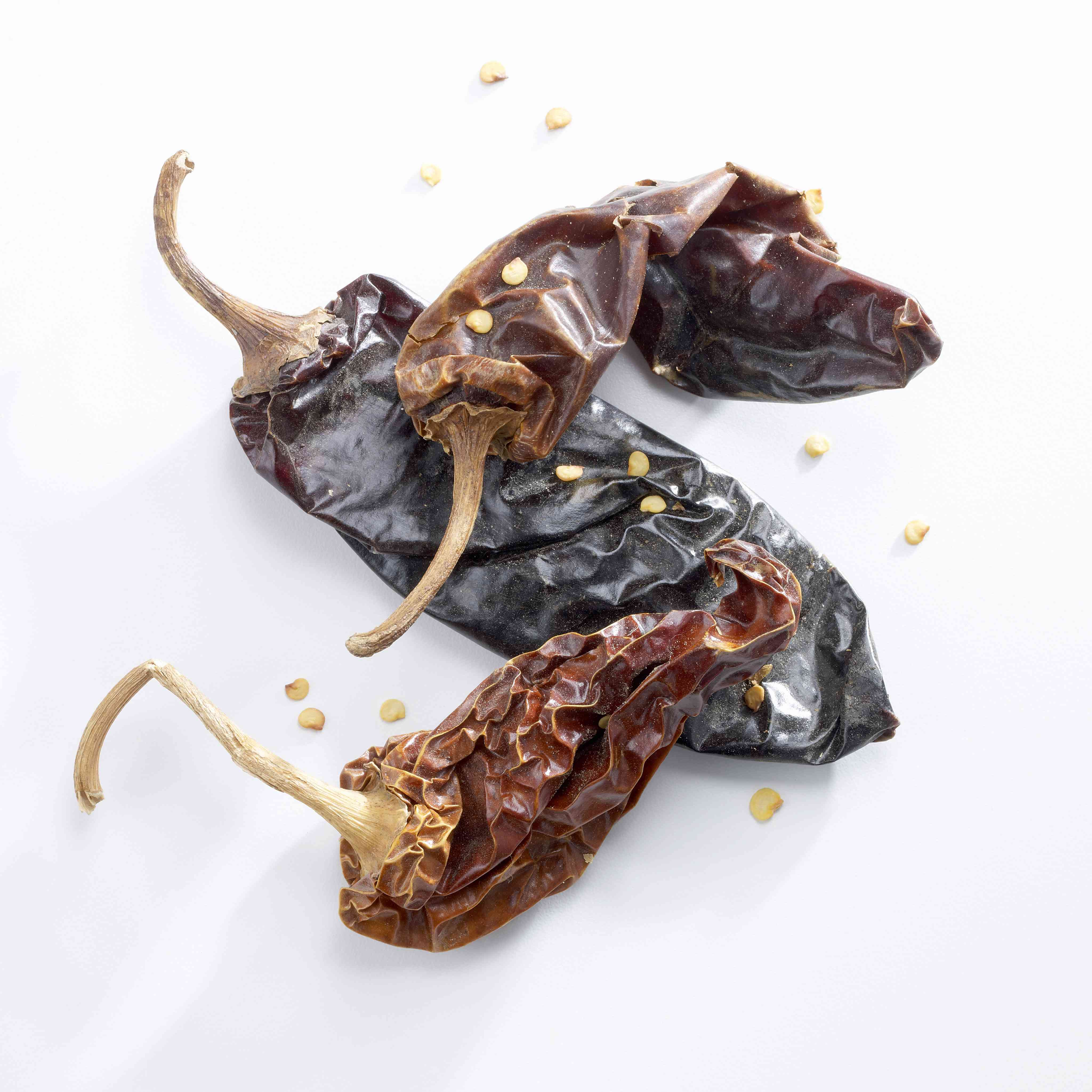 Dried Anaheim Chile Peppers